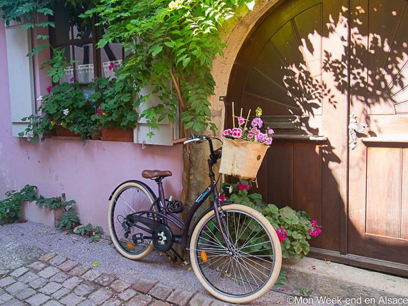 Eguisheim, village de la Route des Vins d'Alsace