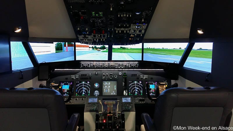 Virtual Flight, simulateur de vol sur Boeing 737