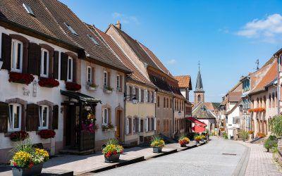 La Petite Pierre, village au coeur des Vosges du Nord