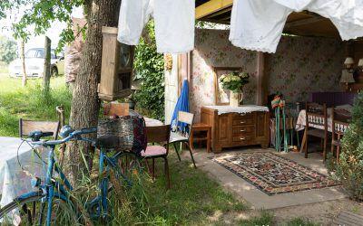 Guinguette d'Illfurth – Balade à vélo et tarte à la rhubarbe