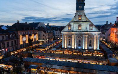 Marché de Noël de Montbéliard (Franche-Comté)