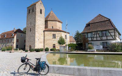 Balade à vélo dans la bande rhénane au départ de Mulhouse (3h30)